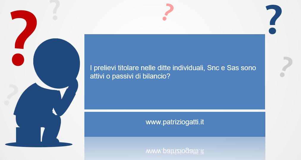Patrizio gatti management consultant controllo di gestione blog - Crediti diversi in bilancio ...